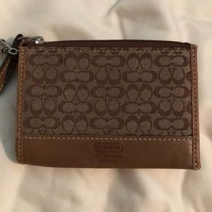 COACH credit card and ID holder